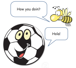 One trillion horny bees descend on the World Cup